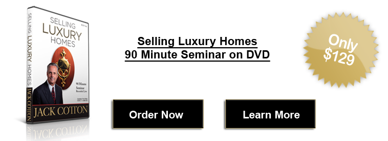 Jack Cotton - Selling Luxury Homes DVD