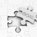 "Goal puzzle, highlighting idea of ""STUPID"" goals."